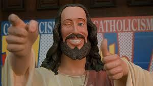 Buddy Christ Meme - buddy christ know your meme