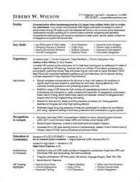 Military Police Job Description Resume by Military To Civilian Resume Template How To Build A Military