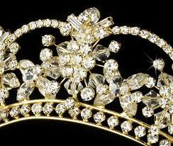 bridal tiaras gold bridal tiara fashion headbands beauty