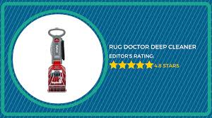 Rug Doctor X3 Reviews Rug Doctor Deep Carpet Cleaner Review Best Carpet Cleaners 2016
