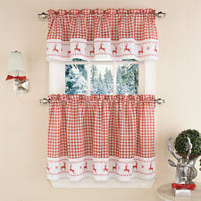 Snowman Curtains Kitchen Christmas Curtains Ebay