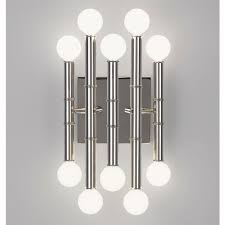 meurice five arm sconce modern lighting jonathan adler