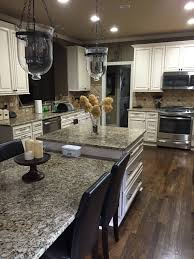 granite countertop adding molding to kitchen cabinet doors cream
