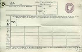 how do you send a telegram what was the process of sending a telegram during the height of