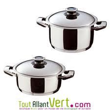 faitout et cuisine faitout et couvercle basse température inox 18 10 abe achat vente