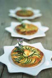 cuisine courgettes recette petites tartes façon gratins de courgettes à l ail cuisine