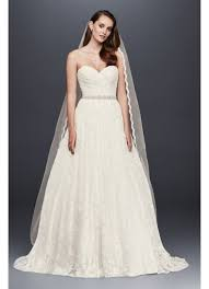 sweetheart wedding dresses lace sweetheart wedding gown david s bridal
