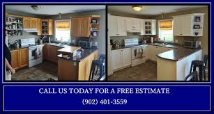 Professionally Painted Kitchen Cabinets by Halifax Cabinet Painters 902 401 3559