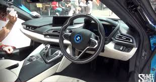 bmw inside onboard the bmw i8 video