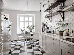 black and white kitchen floor images 7 black and white checkered floors decor ideas