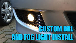 2016 mazda 3 fog light kit diy fog light and drl install s02e02 youtube