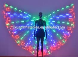 light up fairy wings led lighting belly dance wings light up fairy wings luminous isis
