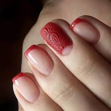 best 20 red french manicure ideas on pinterest u2014no signup required