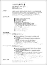 traditional resume template free traditional corporate trainer resume template resumenow