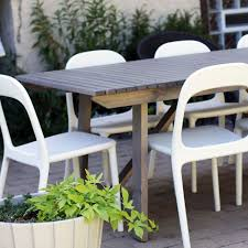 Gorgeous Ikea Patio Dining Set Outdoor Dining Furniture Sundero Table And Chairs Pic From It Lovely With