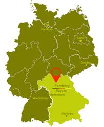 bamberg germany map learn german easily german learning in germany