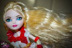 Ever After High Apple White Doll Ever After High Thronecoming Apple White Doll Youtube