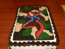 Dessert Flags Lucas U0027s Other 18th Birthday Cake He Loves Hunting And The