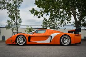 matte orange maserati maserati mc12 corsa by edo competition up for sale drivers magazine