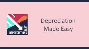 Macrs Depreciation Tables by Depreciation Made Easy Youtube