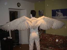 how to make a pair of angel wings 15 steps with pictures