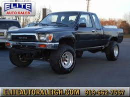 toyota trucks for sale nc 1989 toyota deluxe v6 2dr 4wd extended cab sb raleigh nc