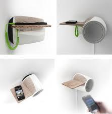 minimalist speakers db60 speaker fuses minimalist design with bluetooth capability