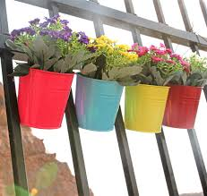 Vertical Garden Pot - 2017 fashion colorful macetas vertical garden planters metal