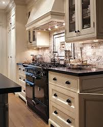 White Kitchen Cabinets With Glaze by Kitchen Black And White Kitchen Marble Subway Tile Back Splash