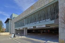 dallas arboretum parking garage and underground walkway gff