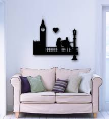 compare prices on london wall sticker online shopping buy low free shipping wall sticker vinyl decal wall stickers vinyl decal romantic couple in love london england