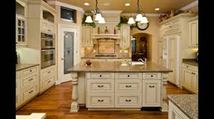 Pictures Of Antiqued Kitchen Cabinets Antique Cream Colored Kitchen Cabinets Youtube