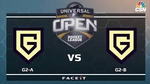 g2 a vs g2 b universal open rocket league youtube