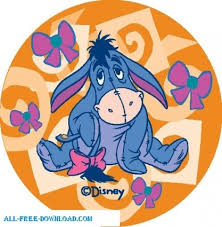 winnie pooh eeyore vector cartoon free vector free download