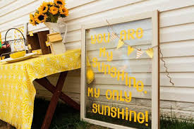kara u0027s party ideas you are my sunshine birthday party via kara u0027s