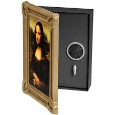 The Home Decor Superstore by Barska Gold Picture Frame Hidden Safe W Dial Lock The Home