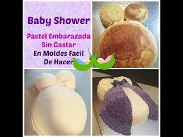 Cómo Hacer Pastel De Embarazada En Chantilly Muy Fácil