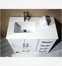 36 inch white bathroom vanity anziano 36