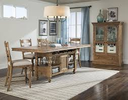 intercon lake house counter height gathering island table with