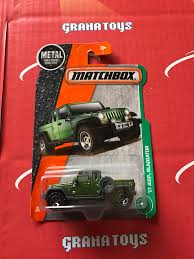 matchbox jeep 2016 17 jeep gladiator 92 2017 matchbox case j grana toys