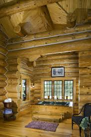 Log Home Interiors 135 Best Cool Rooms Great Looking Interiors Images On Pinterest