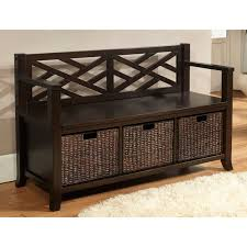Entryway Baskets Bench Interior Entryway With Storage Baskets For Shoes Regarding