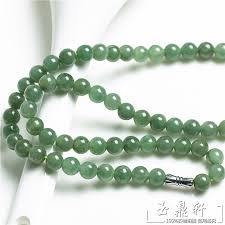 jade bead necklace images A cargo of genuine natural necklace amanda ms male style myanmar jpg