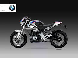bmw bike concept bmw g310r rendered as fully faired cafe racer u0026 scrambler