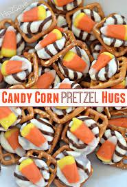 halloween pretzel candy corn pretzel hugs u2013 only three ingredients u2013 hip2save