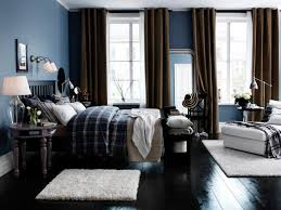 bedroom white wool rugs light blue wall paint colors dark