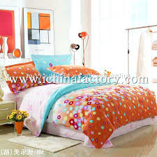 Orange Bed Sets Orange Bed Sets Orange And Turquoise Green Chic Western Paisley