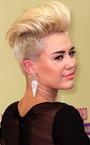 miley cyrus type haircuts miley cyrus quiff hairstyles quiff hairstyles pompadour and
