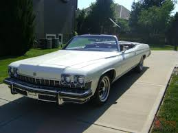 bentley swangas buick lesabre luxus convertible 10 000 original miles with the