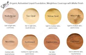 color beich foundation color charts southern magnolia mineral cosmetics